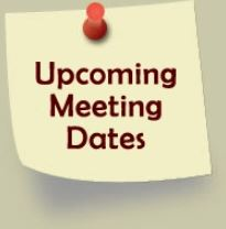 Important MSA Meeting Dates – District & AGM